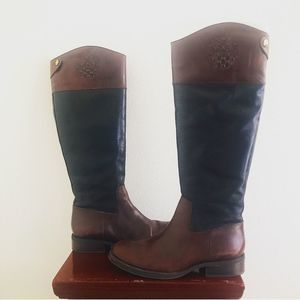Vince Camuto 2-Tone Riding Boots